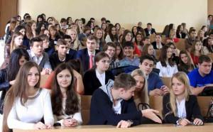 Студенты на паре