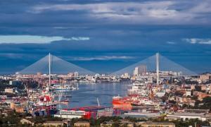 Порт во Владивостоке