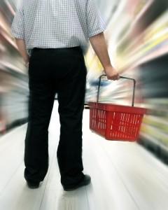 Потребитель со своей корзиной