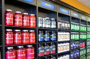 Много добавок из протеина