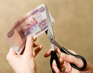 Режет деньги