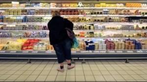 Женщина в супермаркете